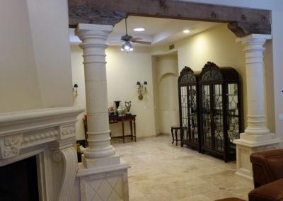 Dining room stone